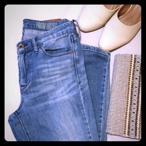 Light wash Madewell denim